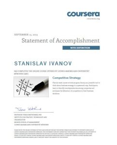 Coursera-Competitive strategy