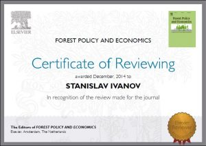 Reviewer-Forest policy and economics