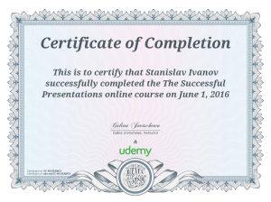 Udemy-Successful presentations
